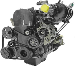 Nissan van Engine
