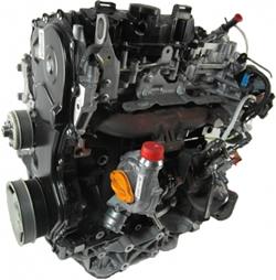 Toyota van Engine